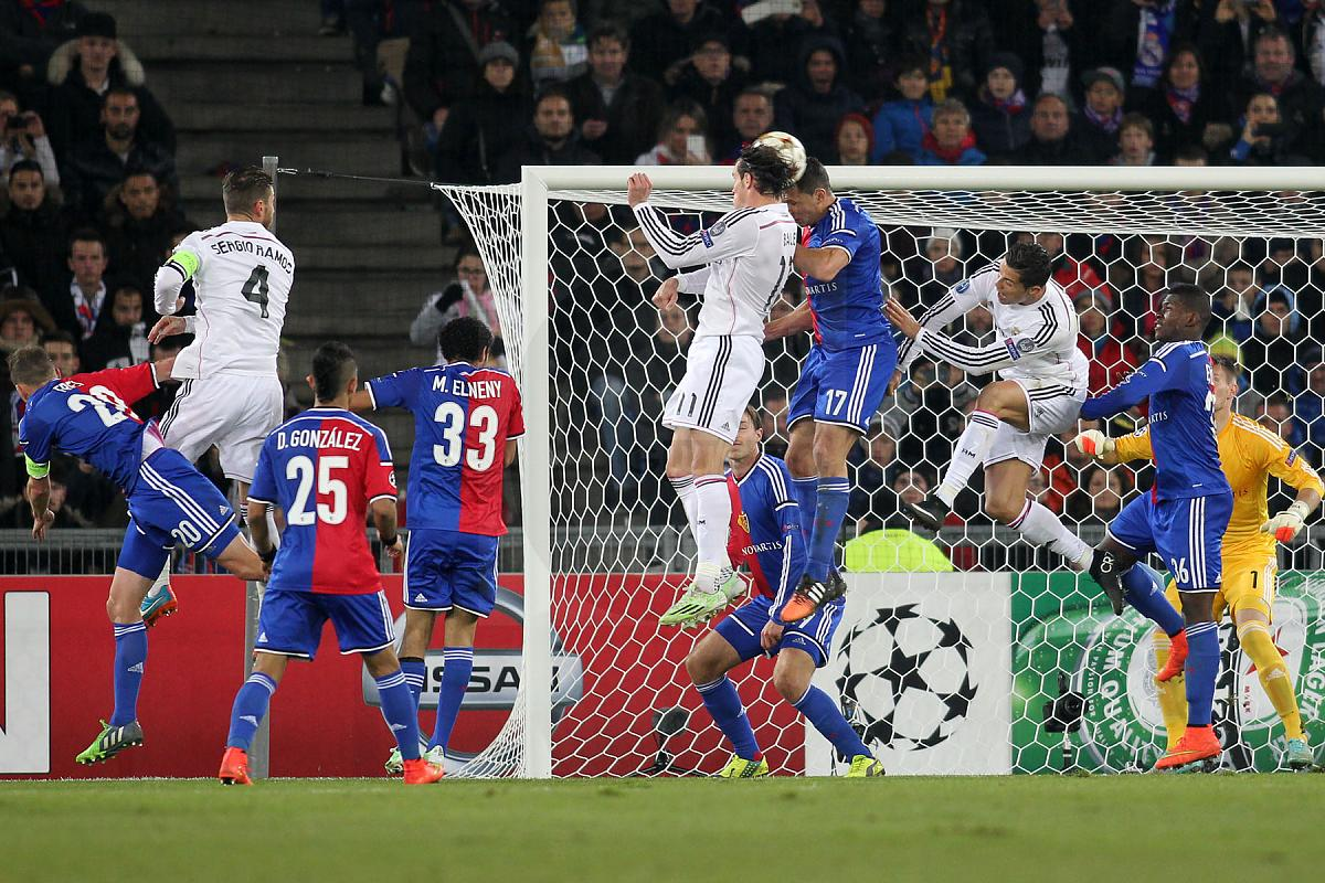 Fussball Champions League - FC Basel - Real Madrid 26.11.14